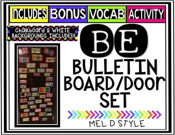 Be Bulletin Board Set + Bonus Activity