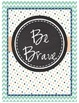 """Be"" Classroom Printable Signs (Beachy Theme)"