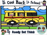 Be Cool Back to School Math and Literacy First Grade (Zero Prep)