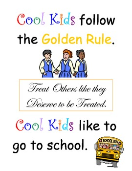 Be Cool - Obey the Rules Big Book