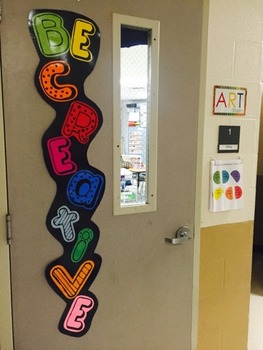 Be Creative! Door Letters