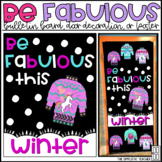 Be Fabulous Ugly Christmas Sweater/Winter Bulletin Board,