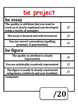 Be Figure and Essay Project