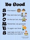 Be Good SPORTS Visual
