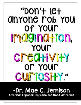 Be Inspired STEM/Scientist Posters