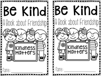 Be Kind: A Book about Friendship #kindnessnation