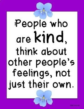 Be Kind Book Companion