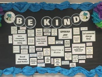 Be Kind Bulletin Board
