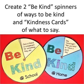 Be Kind Bulletin Board and Activities for Teaching Acts of Kindness