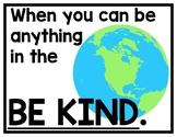 Be Kind Display