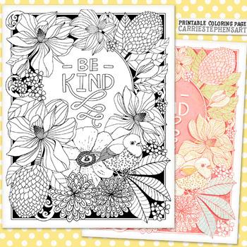 Kindness Coloring Teaching Resources Teachers Pay Teachers