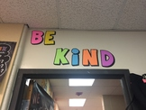 Be Kind Letters