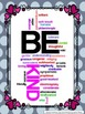 """Valentine's Day """"Be Kind"""" Motivational Posters"""