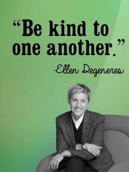 Be Kind Poster 8.5x11