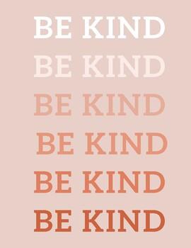 Be Kind Poster (Digital Download)