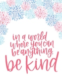 Be Kind Printable Affirmations Decor
