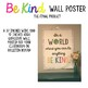 Be Kind Wall Poster