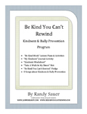 Be Kind Bully Prevention Program
