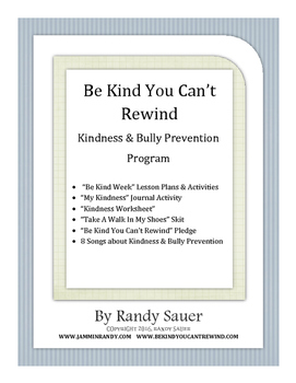 Be Kind Bully Prevention Program