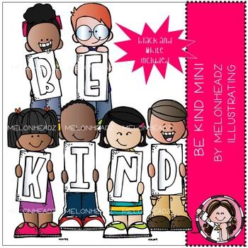 Be Kind clip art - Mini - Melonheadz Clipart