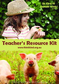 Be Kind to Animals Week Teacher's Kit 2016