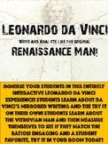 Be Like Leonardo da Vinci! The Original Renaissance Man!