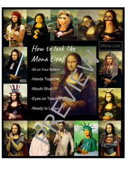 Be Like Mona Lisa- How to act in class