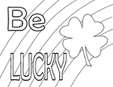 Be Lucky Color Sheet