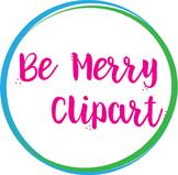 Be Merry Button/Logo