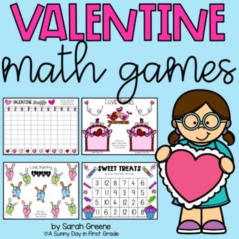 Be Mine {7 Valentine Math Games!}