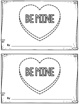 Be Mine -An Emergent Reader