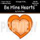 Be Mine Hearts Clip Art