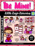 Be Mine Valentine 5 Numbers (1-5) Lessons