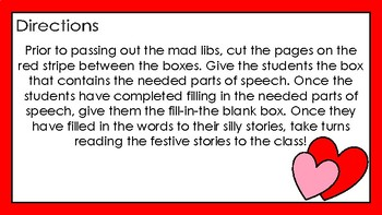 Be Mine, Valentine!: Mad Libs for Middle School and High School