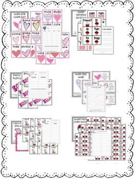 First Grade Centers:  Valentine's Day