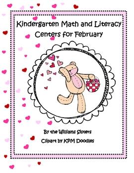 Be Mine Valentine ~ Math and Literacy Centers for Kindergarten