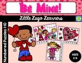 Be Mine Valentine Numbered Puzzles 1-10