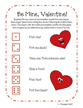 Be Mine Valentine's Game