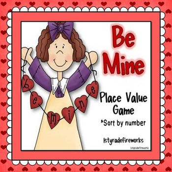 Be Mine...Place Value Game