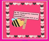 Be My Kindergarten Valentine