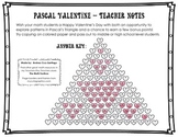 Be My PASCALintine! - A Math Valentine on Pascal's Triangle