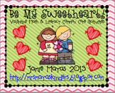 Be My Sweetheart!  {Valentine Math & Literacy Common Core Centers}