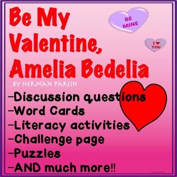 Amelia Bedelia Be My Valentine Amelia Bedelia End Of Book