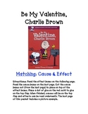 Be My Valentine, Charlie Brown: Matching Activity