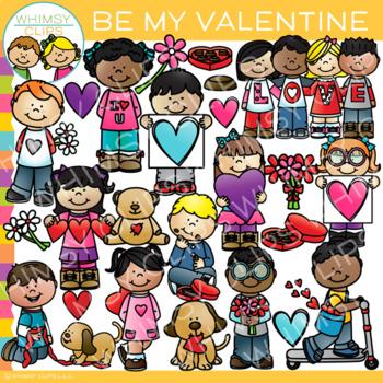 Be My Valentine Clip Art - Valentine's Day Clip Art