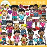 Be My Valentine Clip Art