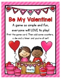 Be My Valentine! Dice Game - Perfect for Class Parties, Ce