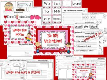 Be My Valentine! Fun & Engaging Activities for Young Learners