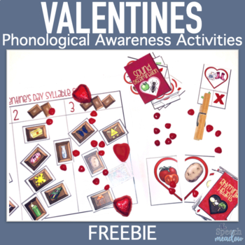 Be My Valentine Phonological Awareness