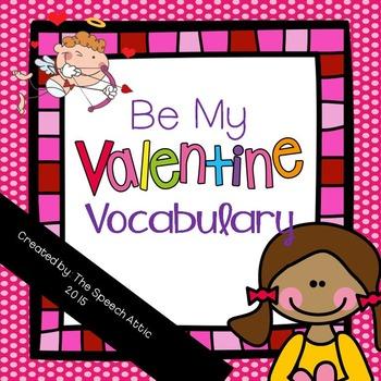 Be My Valentine Vocabulary
